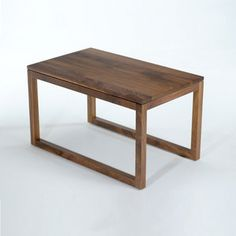 by Commonhouse  Frame Side Table Walnut now featured on Fab.