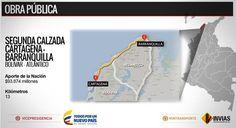 Adjudicado contrato para construir tramo de segunda calzada Cartagena-Barranquilla :: Emisora Rosita Estéreo