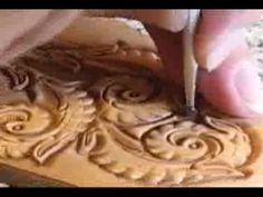Using Backgrounder in Leatherwork ~ Leathercraft Tutorial ~ Basics of Leather Craft