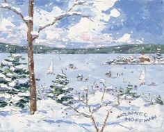 Hramiec Hoffman painter, artist from Harbor Springs, Michigan
