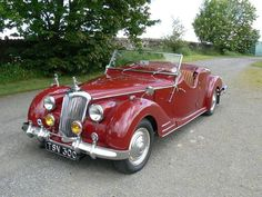 1950 Riley RMC 2.5 litre Roadster