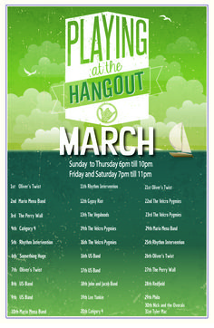 Menus | The Hangout: Great Food and Live Music in Gulf Shores, AL