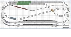 New layout idea - Layout Planning - JNS Forum N Scale Train Layout, N Scale Layouts, Model Train Layouts, N Scale Model Trains, Scale Models, Model Railway Track Plans, Model Training, Train Set, Planer