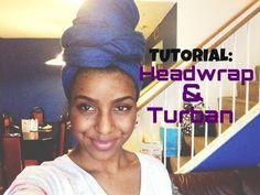 Headwrap/Turban Tutorial *Requested*