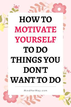 Motivate Yourself, How To Better Yourself, Mindset Quotes, Life Quotes, Life Lessons, Life Tips, Life Skills, How To Stay Motivated, Stay Focused