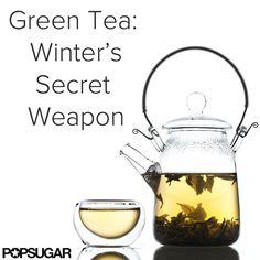 Reasons to keep sipping green tea this season.