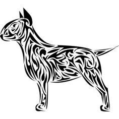 dibujo bull terrier - Buscar con Google