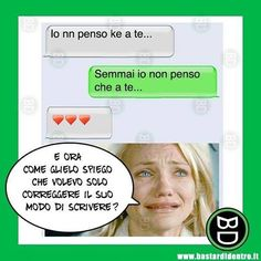 Quando si fraintende... #bastardidentro #whatsapp #messaggi www.bastardidentro.it