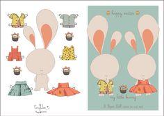 Tiny-Us ( PDF) Happy little Bunny.. Easter