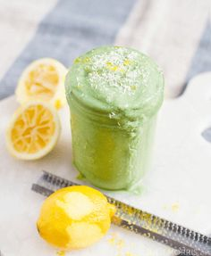 There are many borderline magical flavor combinations in the world, and in my option, lemon and coconut easily earn their spot on that best-of list. This creamy blend tastes almost like a cheesecake, and thanks to its balance of quality protein, greens, minerals, and healthy fats, you'll find this smoothie makes an energizing meal replacement.