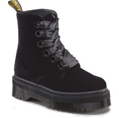 Shop Women's Boots on the official Dr. Martens like the Women'S 1460 Smooth, 1460 Pascal Virginia, and 1460 Color Pop in a variety of leathers, textures and colors. Dm Boots, Black Boots, Combat Boots, Shoe Boots, Shoes Heels, Shoe Bag, Dr. Martens, Doc Martins Boots, Dr Martens Store