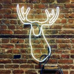 Wee Moosey Neon Sign Ready-made