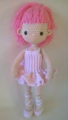 My Little Crochet Doll –Ballerina