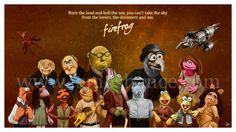Muppets + Firefly