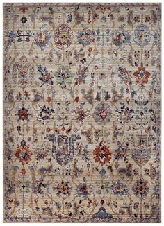 Material: Machine Made Rug 80%Wool,20%Nylon A distinctive Armenian (Caucasus region) design dating to the first half of the 17th is made even more unusual in its modern interpretation. Originally exec