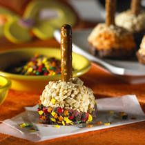 halloween rice krispie treats ~ easy halloween recipe the kids can help with