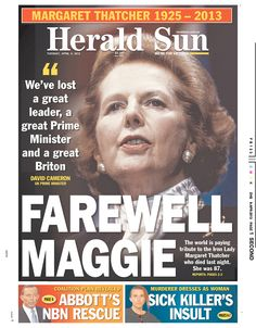 Herald Sun, published in Melbourne, Australia