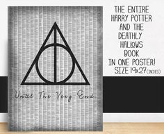 DEATHLY HALLOWS: ENTIRE BOOK Poster