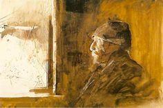 Andrew Wyeth, unknown on ArtStack #andrew-wyeth #art
