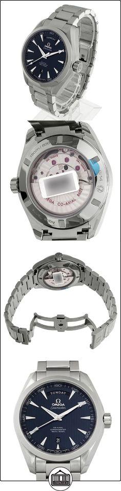 Aqua Terra Azul Dial Acero inoxidable reloj para hombre  ✿ Relojes para hombre - (Lujo) ✿