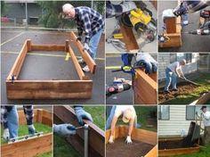 Constructing Raised Bed Gardens