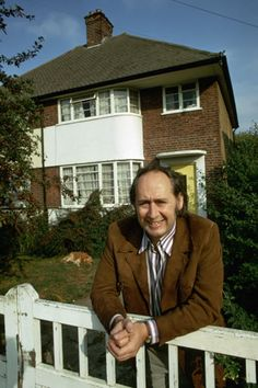 Bea Ballard on her father, J.G.Ballard 1970: JG Ballard outside the house in Shepperton, Surrey. Photograph: David Reed/Corbis
