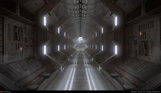 Spaceship Corridor by Andrew Price | 3D | CGSociety