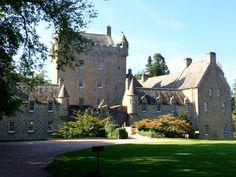 Cawdor Castle. It felt very English inside, perhaps because it's a Campbell castle.