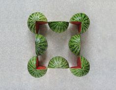 Food Art: geometría en los alimentos - Cultura Colectiva - Cultura Colectiva