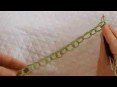 ▶ Easyloop® Fauxchét® Chain Stitch, Row 1. - YouTube