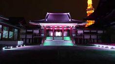 【公式】向源2014@増上寺 Projection+Lighting+Music!!!