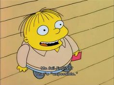 From Homer and Bart to Ralph Wiggum and Apu, these fifty funny Simpsons quotes capture the hilariousness of Springfield. Simpsons Funny, Simpsons Quotes, The Simpsons, Simpsons Characters, Funny Quotes, Funny Memes, Hilarious, Bad Memes, Homer Simpson
