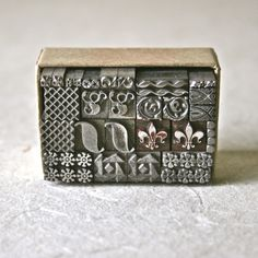 Decorative Vintage Letterpress Dingbats or Ornaments for Printing Stamping and Clay Stamping by ReminiscencePapers on Etsy