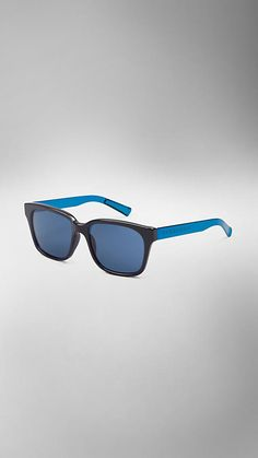 Sonnenbrille Spark mit eckigem Rahmen | Burberry