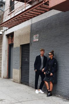 Blogger Couple Shooting - s.Oliver collaboration in New York Fashiioncarpet & Patkahlo  #love #newyork