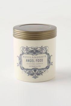 Angel Food smells amazing in the kitchen. Boulangerie Jar - anthropologie.com