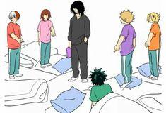 Boku no Hero Academia Boku No Academia, My Hero Academia Shouto, Hero Academia Characters, Comic Anime, Aizawa Shouta, Mini Comic, Romance, Boku No Hero Academy, Funny Animal Videos