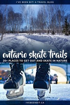 Skate trails are all the rage this winter! Check out these outdoor skating trails in Ontario for some snow-mazing winter fun across the province. Canadian Travel, Canadian Winter, Canadian Rockies, Ontario Parks, Canada Ontario, Ottawa Canada, Montreal Canada, Winter Fun, Winter Travel