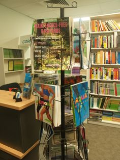 Our bookshop at the Robina office 2012