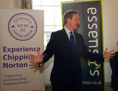 ECN's special guest speaker, Prime Minister David Cameron meets some of the assembled local business owners.