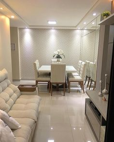 Small Living Room Ideas & Design on a Budget with Decoration Tips Small Apartment Decorating, Interior Decorating, Interior Design, Decorating Ideas, Living Room Interior, Living Room Decor, Kitchen Interior, Dinner Room, Small Living Rooms
