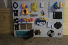 Sensory/ Busy board for a DYI Sensory Room