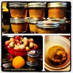 #Slowcooker #crabapple butter #recipe. Hello autumn!