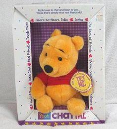 Disneys Winnie the Pooh Talking Chat Pal Doll
