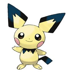Pichu 172 udvikler sig til Pikachu 025                                                                                                                                                                                 More