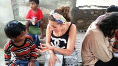 Work with children in Orphanage, Special care centers, Rescue centers, Day care centers etc.