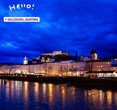 Salzburg, Austria, Mansions, House Styles, Travel, Home Decor, Viajes, Decoration Home, Manor Houses