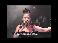 Selena performing Juana La Cubana at a graduation dance at age 15 - YouTube