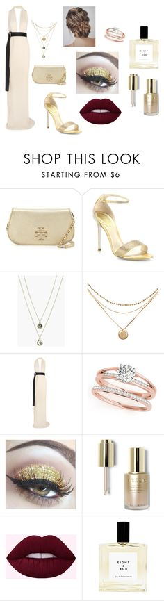 """""""Dress as if you are a princess and act like you are the Queen."""" by sarah-matin on Polyvore featuring Tory Burch, René Caovilla, Boohoo, Solace and Stila"""