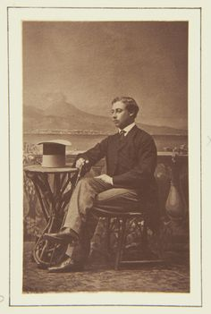 The Prince of Wales, Naples, September 1862 [in Portraits of Royal Children Vol.6 1862-1863] | Royal Collection Trust